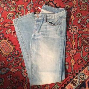 LOFT Modern slim jeans size 8